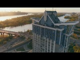 Сучасний Кив - Хмарочоси. Лвий берег - IVORY Films 4K #Киев #небоскребы #аэросъемка
