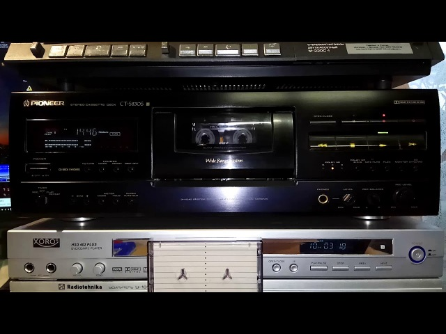Yanni - Storm - Pioneer CT-S830S @ case SKC CD, tape tdk sa - high level test
