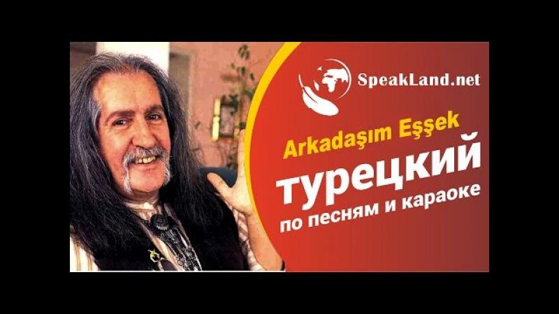 "Турецкий по песнямкараоке Barış Manço ""Arkadaşım Eşşek"""