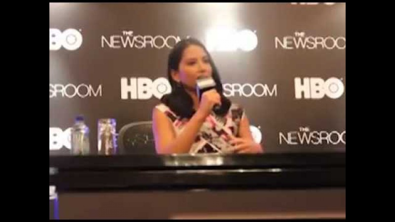 Newsroom star Olivia Munn talks about her mom and her Asian roots