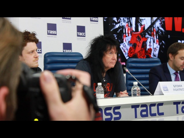 Blackie Lawless - 2017 - W.A.S.P. - Press Conference, Moscow (Interview) - 4