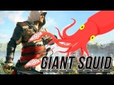 Assassin's Creed 4 Black Flag Creepiest Easter Egg - Giant Squid (Assassin's Creed IV Secrets)