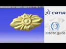 Catia video 2 Organic forms Reverse engineering for beginners