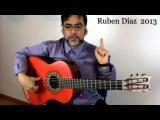 Alzapua technique 1  Andalusian Flamenco Guitar Lessons  Paco de Lucia's tech. Ruben Diaz