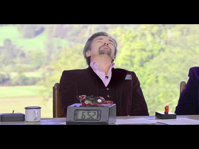 The unusual 💣alarm clock💣 of Richard Hammond