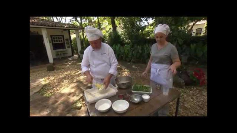 Receita de pão artesanal Saboroso
