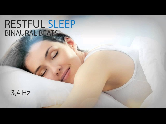 Restful Sleep - Binaural Beats - 3,4Hz