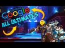 ALL OVERWATCH HEROES ULT'S BUT GOOGLE TRANSLATED D pt 1