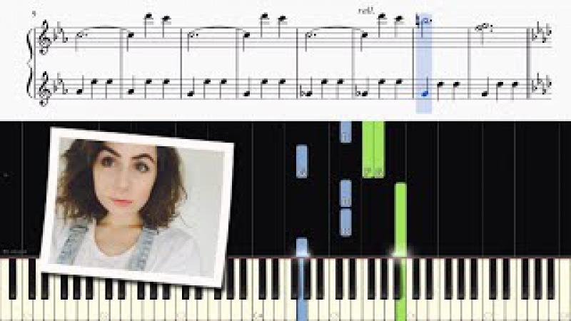 Dodie Clark - Instrumental - Piano Tutorial (Easy)