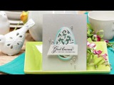 Clean and Elegant Easter Egg Cards Video Tutorial