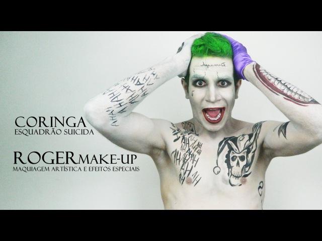 Maquiagem Coringa Esquadrão Suicida