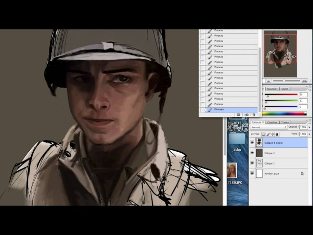 Speed Painting - Band of Brother - Doc Roe / Shane Taylor