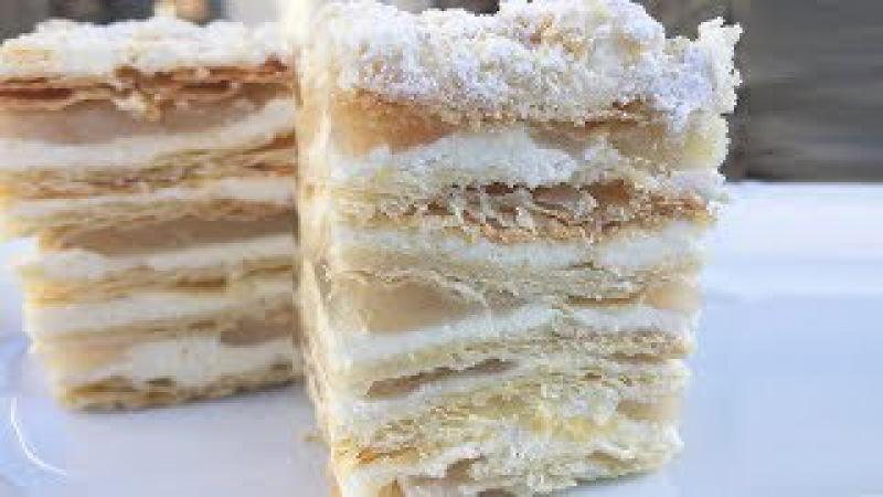 Торт Наполеон Рецепт Классический Торт Наполеон Семейный рецепт