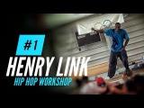 HIP HOP DANCE WORKSHOP Henry Link (Elite Force Crew) class SDK EUROPE 2013 (Part 1)
