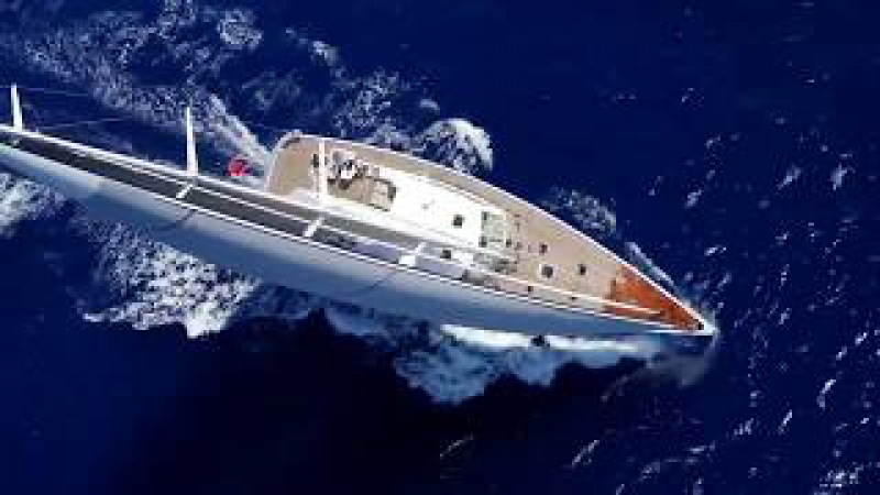 Sailing yacht GLISS,built by ROYAL HUISMAN