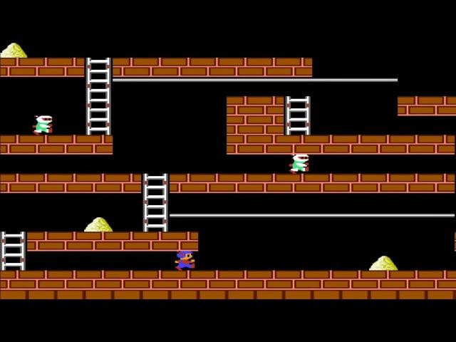 Lode Runner NES Прохождение Золотоискатель Денди Dendy Walkthrough