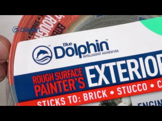 BLUE DOLPHIN Малярная лента ROUGH SURFACE/ для шероховатых поверхностей