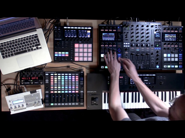 Icicle live using TRAKTOR, MASCHINE, and KOMPLETE KONTROL | Native Instruments