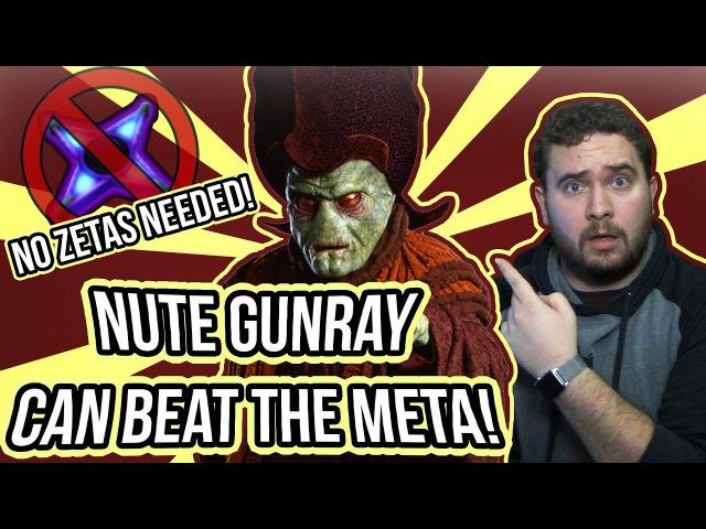 Nute Gunray Can Beat The Meta! No Zetas or Kenobi Needed!   Star Wars: Galaxy of Heroes