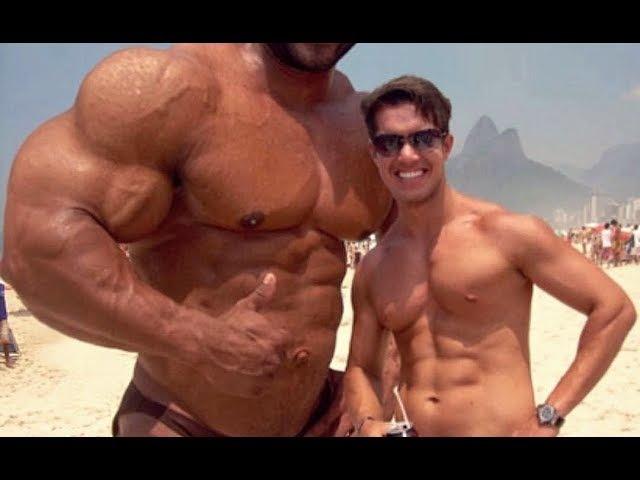 BodyBuilder Na Praia: Reação das Pessoas ao Ver seu Tamanho