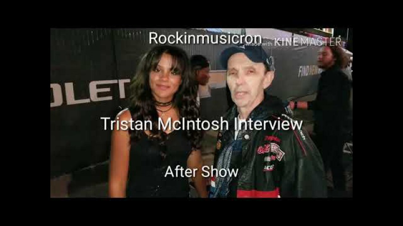 Tristan McIntosh Interview-After Show-State Fair of Texas-Dallas-With Rockinmusicron