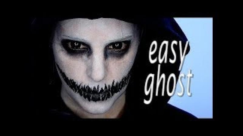 Makeup tutorial Ghosts - halloween makeup tutorial horror 2018