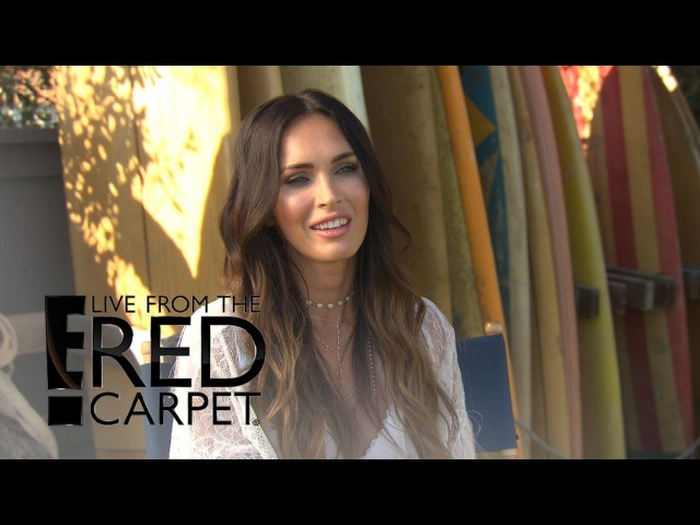 Megan Fox Claims Hollywood Is Morally Bankrupted E Live from the Red Carpet
