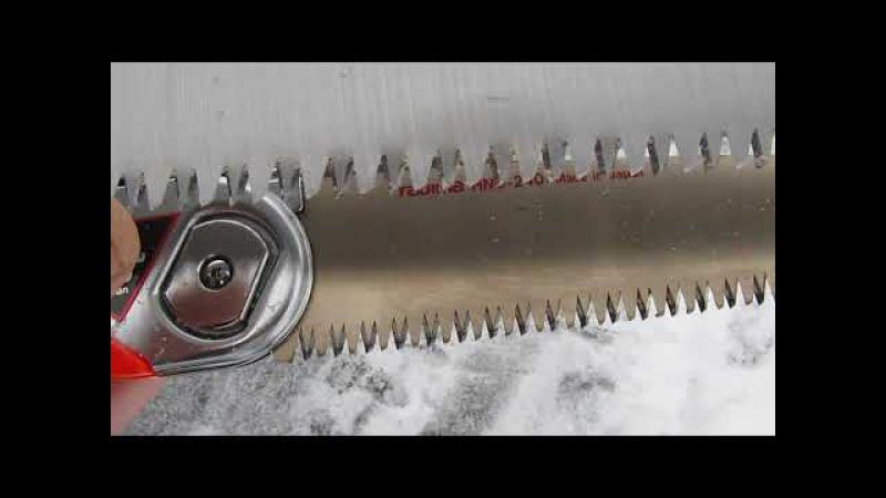Ножовка для леса Tajima и Geolia Китай или Япония!