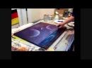Painting tutorial Moonlight