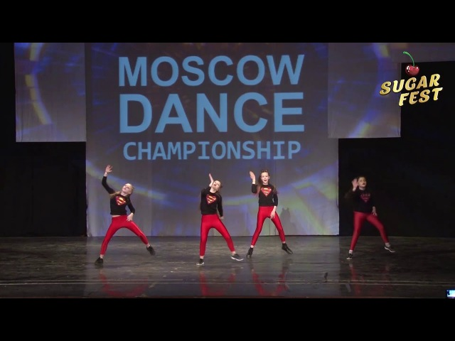WOW CREW 🍒 HIP-HOP CREW JUNIORS BEGINNERS 🍒 SUGAR FEST. Dance Championship