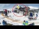 Accident in ski lift Gudauri Georgia - კატასტროფა გუდაურში საბაგიროზე