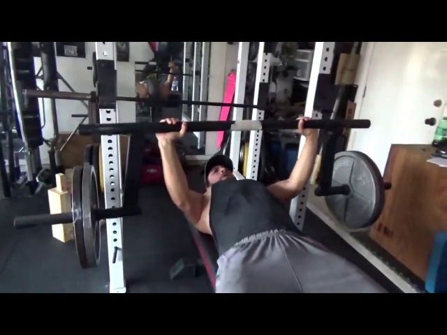 Cambered Squat Bar Bench