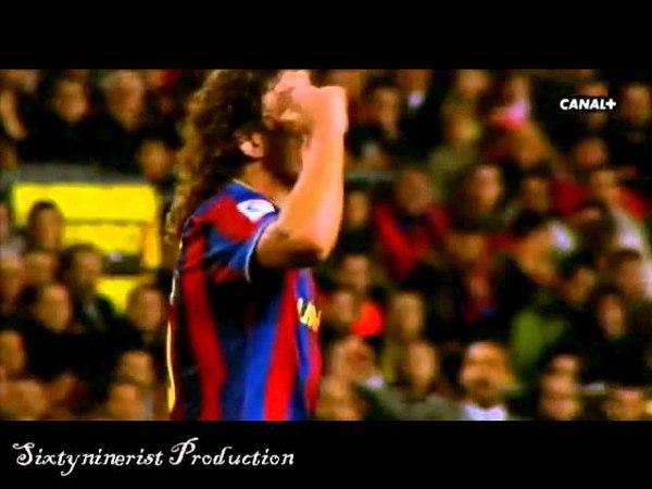 Worlds Best Defender Carles Puyol The BraveHeart - Compilation