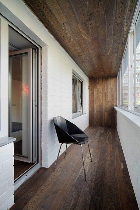 Минималистичный балкон