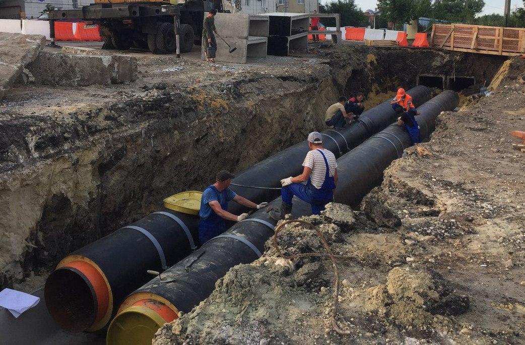 Энергетики завершили реконструкцию тепломагистрали на проспекте Дружбы