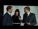 Сэм Хьюэн и Катрина Балф интервью на красной ковровой дорожке BAFTA Scot 2017 rus sub