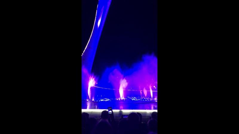 Олимпиский фонтан
