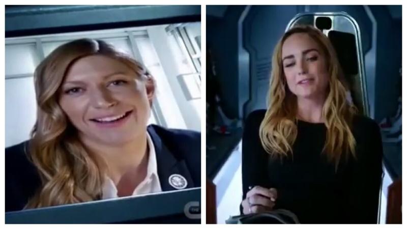 Легенды завтрашнего дня 3 сезон 11 серия Сара и Ава