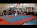 Победа Никиты Васнёва в открытом первенстве школы по Combat Ju Jutsu г Шахтинск в весовой категории до 35 кг