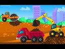 Развивающие Мультфильмы Игра Строитель Мультики про Машинки для Детей  #2