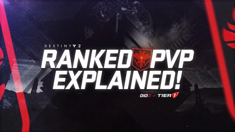 Destiny 2 Ranked PvP Is Here! (In-Depth Breakdown - New Ranks Explained)