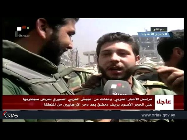 Syrian Arab Army imposes control over Black Stone in Damascus countryside after defeating terrorists from region 21.05.2018