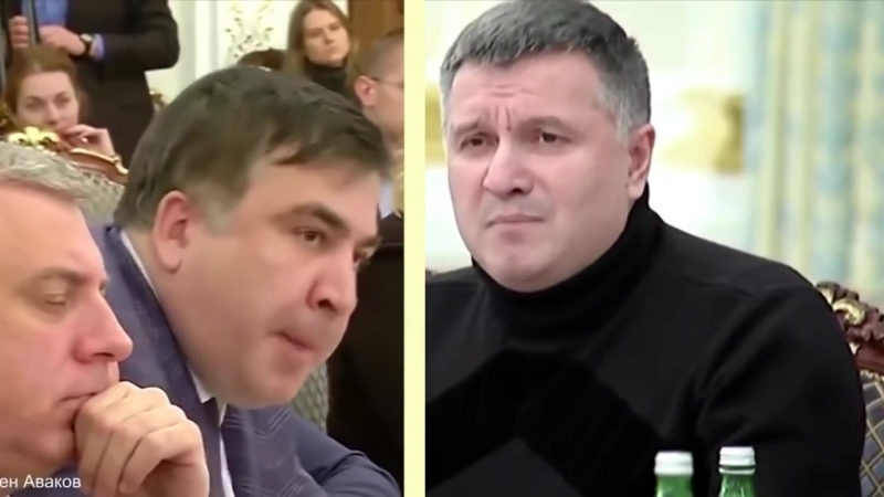 Avakov vs Saakashvili (orig. Johnny Cymbal - Mr. Bassman (stereo)