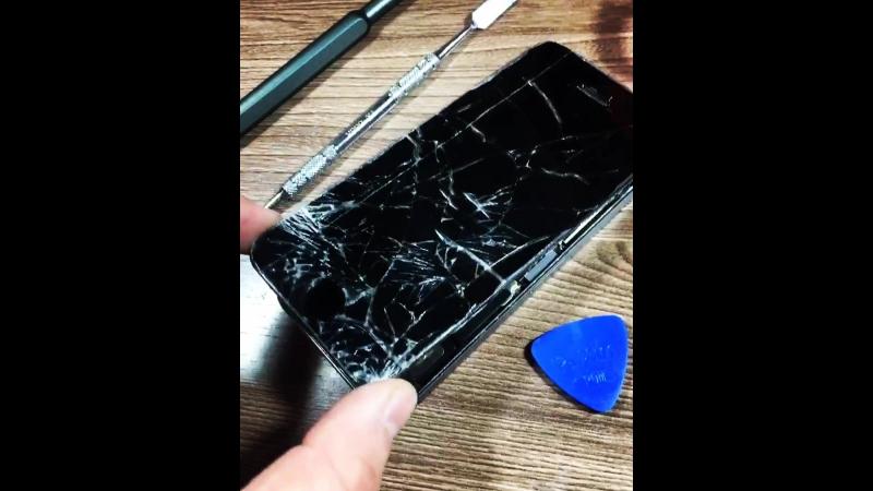 Разбитый LCD iPhone 5s