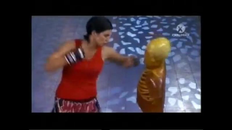 Muay Thai Gina Carano Джина Карано