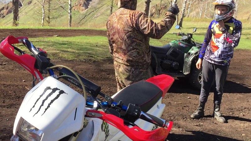 Irbis TTR 125Baltmotors ENDURO 250DDКвадроцикл CF-Moto 500-2a (Покатухи) Лыска,арка..Krasnoyarsk