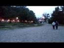 Прогулка по парку вечером. Джубга, сентябрь 2017 г