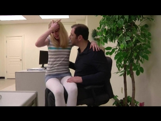 Daddy daughter office fuck