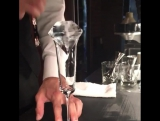 Лёд в форме бриллианта