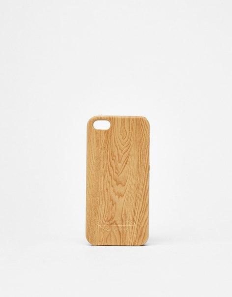 Чехол с эффектом дерева, для iPhone 5/5s